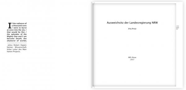 Ausweichsitz der Landesregierung NRW - Joerg Bergs
