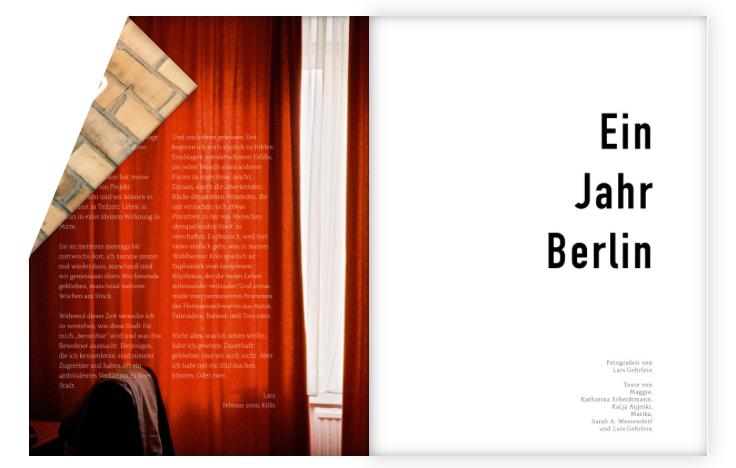 Rezension: Lars Gehrlein – Ein Jahr Berlin
